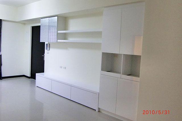 优向室内装修设计 设计作品 系统柜简易装修